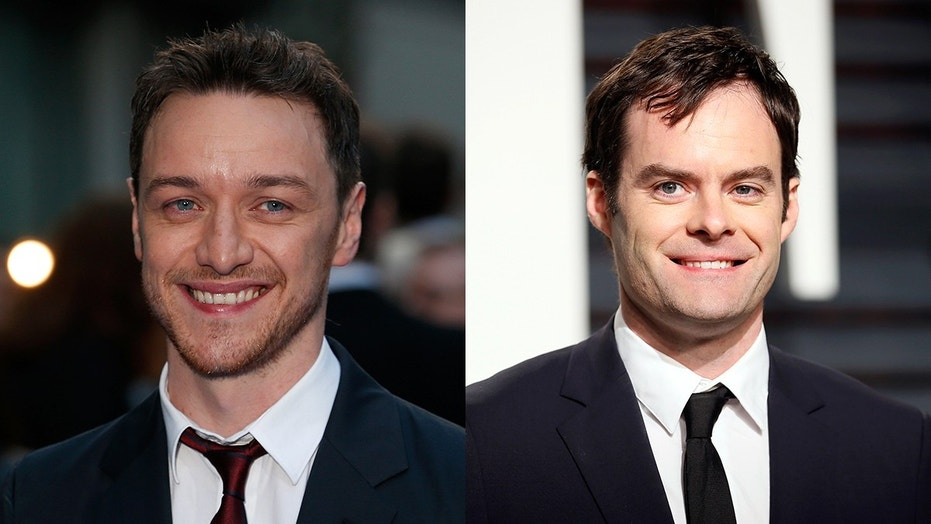 James McAvoy and Bill Hader are in final talks to play Bill and Richie respectively in the 'It' sequel.