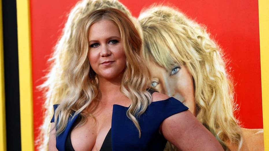 "Cast member Amy Schumer poses at the premiere of the movie ""Snatched"" in Los Angeles, California, U.S., May 10, 2017."