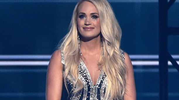 "Carrie Underwood performs ""Cry Pretty"" at the 53rd annual Academy of Country Music Awards at the MGM Grand Garden Arena on Sunday, April 15, 2018, in Las Vegas."