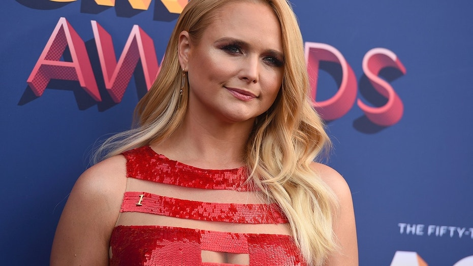 Miranda Lambert arrives at the 53rd annual Academy of Country Music Awards at the MGM Grand Garden Arena on Sunday, April 15, 2018, in Las Vegas.