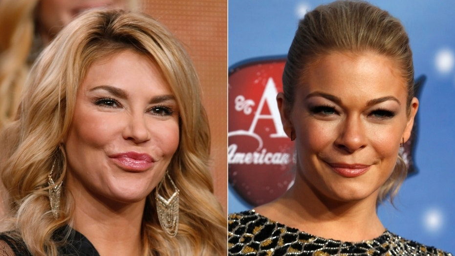 Brandi Glanville shared a selfie with LeAnn Rimes over the weekend at the birthday party for the reality star's son.