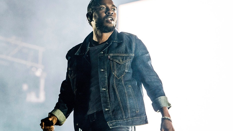 In this July 7, 2017, file photo, Kendrick Lamar performs during the Festival d'ete de Quebec in Quebec City, Canada. Lamar was nominated for seven Grammy nominations on Tuesday, Nov. 28.