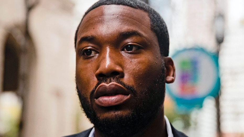 Meek Mill was sentenced to two to four years in prison for a probation violation in November 2017.