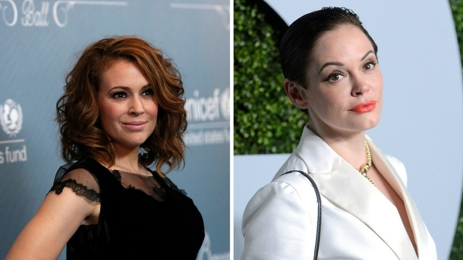 "Alyssa Milano brushed of her former ""Charmed"" co-star's criticism of her involvement in the Time's Up and #MeToo movement."