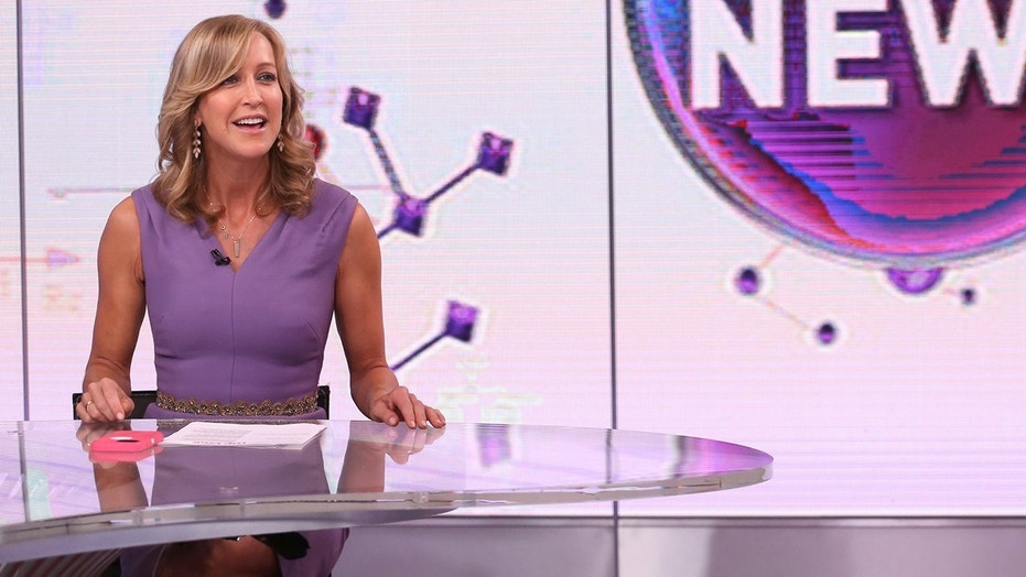 "Lara Spencer appears on ABC's ""Good Morning America."""