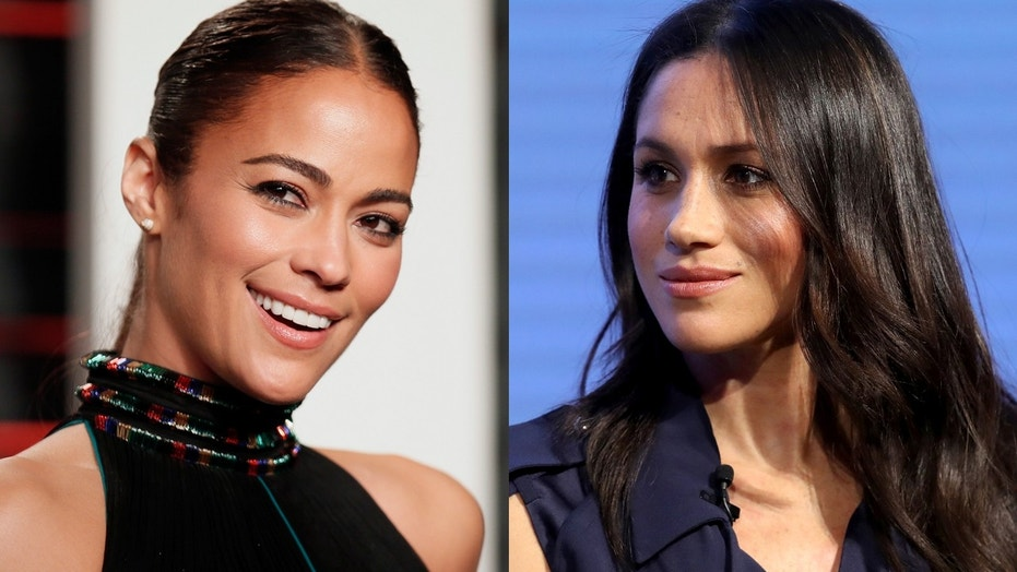 Actress Paula Patton revealed that Meghan Markle helped her make her 2005 wedding invitations.