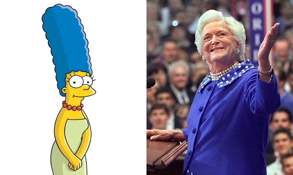 'The Simpsons' showrunner shares Barbara Bush's 1990 letter to Marge Simpson