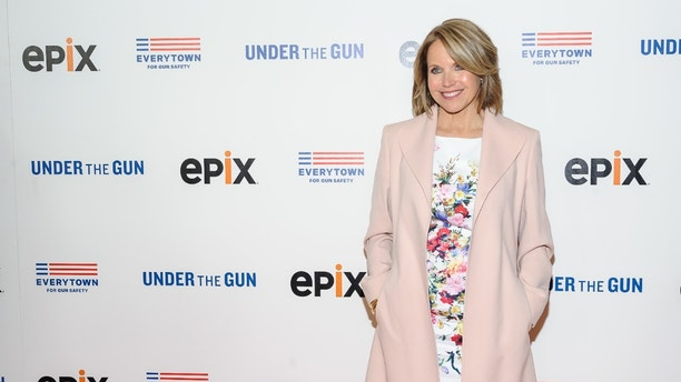 """FILE - In this May 12, 2016, file photo, Katie Couric attends the premiere of her documentary, """"Under The Gun"""", hosted by The Cinema Society in New York. Couric has taken responsibility for what she calls a decision that misrepresents the response of gun rights activists to a question she posed in the documentary. (Photo by Christopher Smith/Invision/AP, File)"""