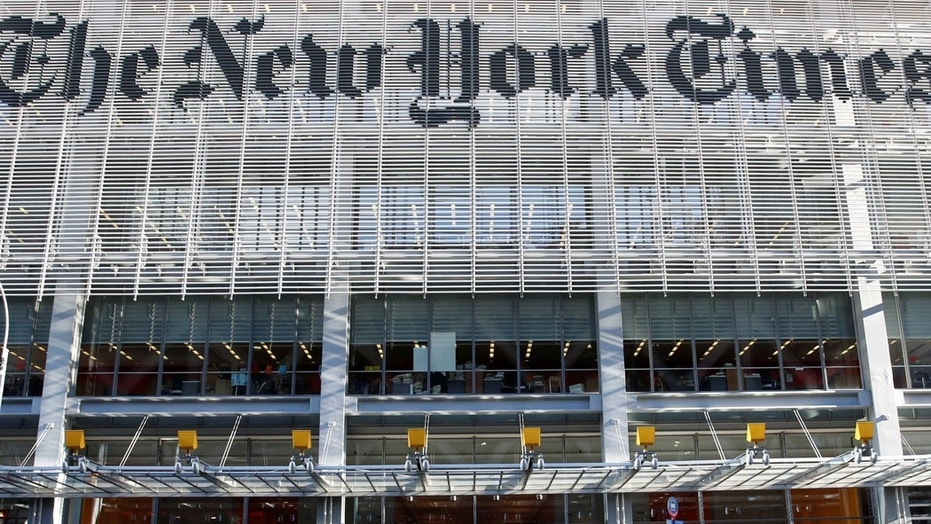 Conservative shareholder advocate Justin Danhof tells Fox News he confronted New York Times Chairman Arthur Sulzberger Jr. and his son, publisher A.G. Sulzberger, over bias at the paper.