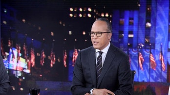 """NBC NEWS - ELECTION COVERAGE -- Election Night 2016 -- Pictured: Lester Holt, Anchor, """"NBC Nightly News with Lester Holt"""" on Tuesday, November 8, 2016 in New York -- (Photo by: Heidi Gutman/NBC)"""