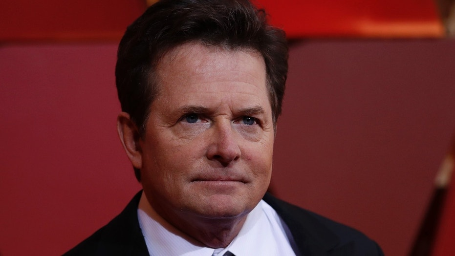 Michael J. Fox at the 89th Academy Awards.