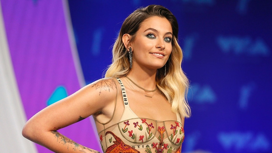Paris Jackson is pictured at the 2017 MTV Video Music Awards.