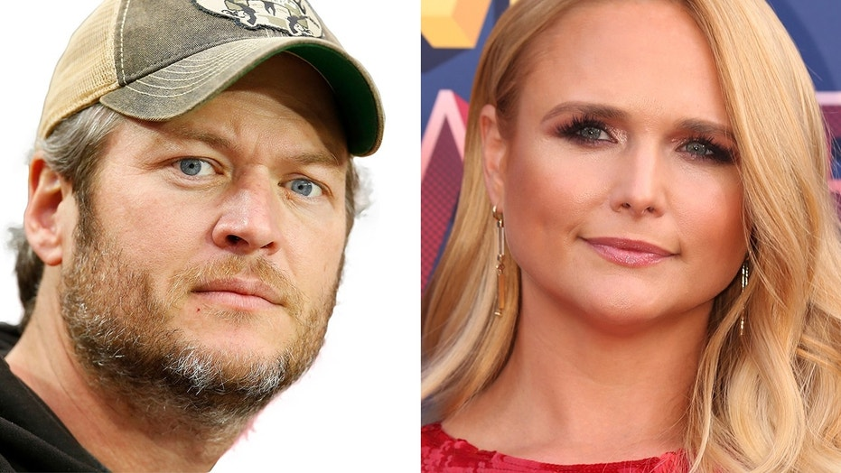 Country singers Blake Shelton and Miranda Lambert were married from 2011-2015.