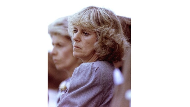 FILE PHOTO JUN92- Camilla Parker Bowles, pictured, and her husband Andrew are to divorce it is reported January 10. Mrs Parker Bowles, a close friend of Prince Charles, and her husband are expected to issue a statement today - PBEAHUMZBBG