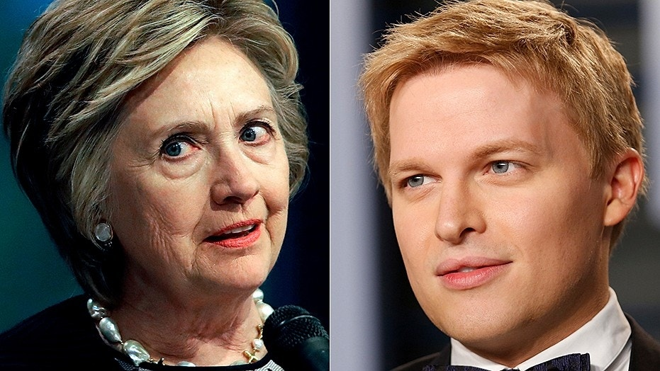 Ronan Farrow said that Hillary Clinton tried to skip a scheduled interview over concerns that he was reporting on Harvey Weinstein's sexual misconduct.