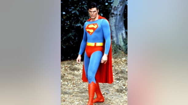 """UNDATED FILE PHOTO- Actor Christopher Reeve, most noted for his role as """"Superman,"""" is shown in a scene from one of the """"Superman"""" films. Reeve, 42, was paralyzed and breathing with the help of a respirator May 31 after suffering a severe neck injury after being thrown by a horse during an equestrian event over the weekend - PBEAHUNBGFK"""
