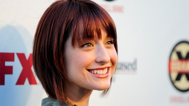 FILE PHOTO: Actress Allison Mack arrives at the Hollywood FX Summer Comedies Party in Los Angeles, California June 26, 2012. REUTERS/Gus Ruelas/File Photo - RC185181C4C0