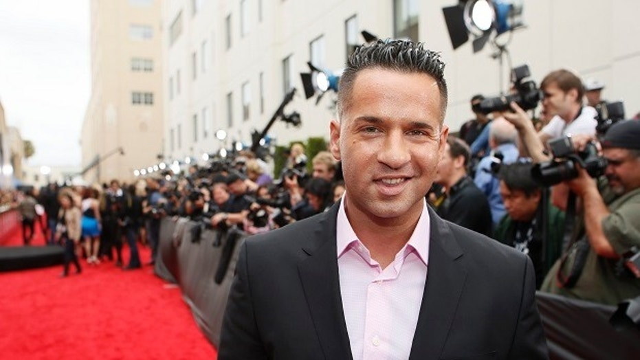 """Mike """"The Situation"""" Sorrentino is engaged to his college sweetheart Lauren Pesce."""