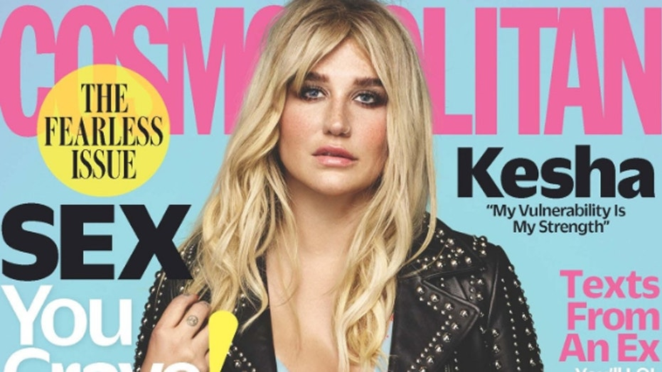 Kesha opens up about struggling with her body weight and her new confident image.