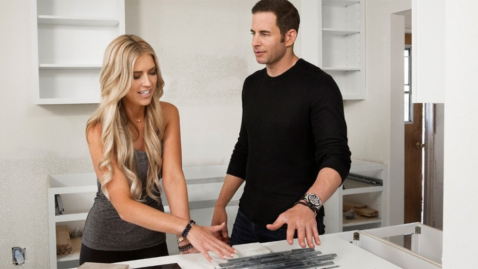 """Flip or Flop"" stars Christina and Tarek El Moussa."