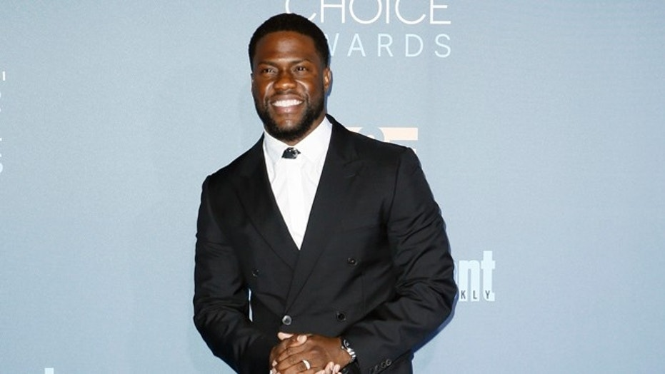 Actor Kevin Hart arrives at the 22nd Annual Critics' Choice Awards in Santa Monica, California, U.S., December 11, 2016.
