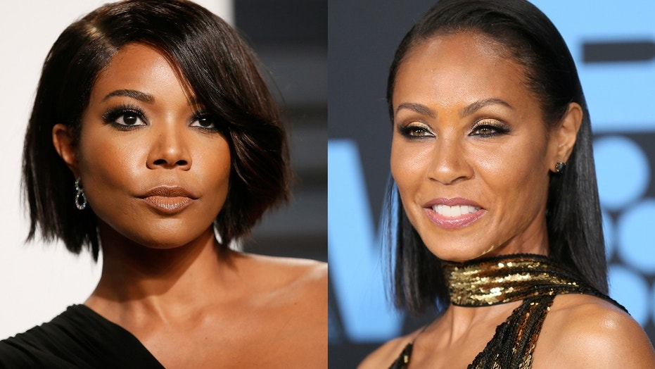 Gabrielle Union (left) and Jada Pinkett Smith have reconciled after Pinkett Smith revealed that the two had been in a 17-year feud.
