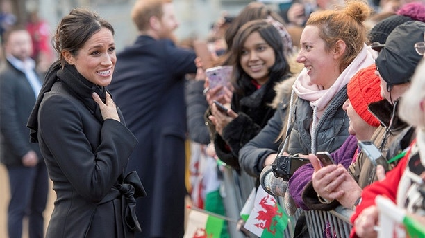 Britain's Prince Harry's and his fiancee Meghan Markle visit Cardiff Castle in Cardiff, Britain, January 18, 2018. REUTERS/Arthur Edwards/Pool - RC14553E9AF0