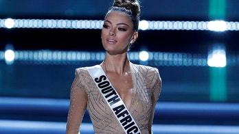 Miss South Africa Demi-Leigh Nel-Peters competes in the 66th Miss Universe pageant at Planet Hollywood hotel-casino in Las Vegas, Nevada, U.S. November 26, 2017.