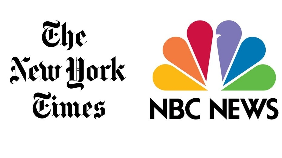 """The New York Times fired back at NBC News after former cheerleaders went on """"Today"""" and questioned a report the paper published earlier this week."""