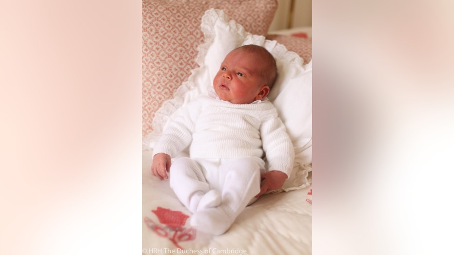Kensington Palace released new photos on Saturday on newborn Prince Louis.