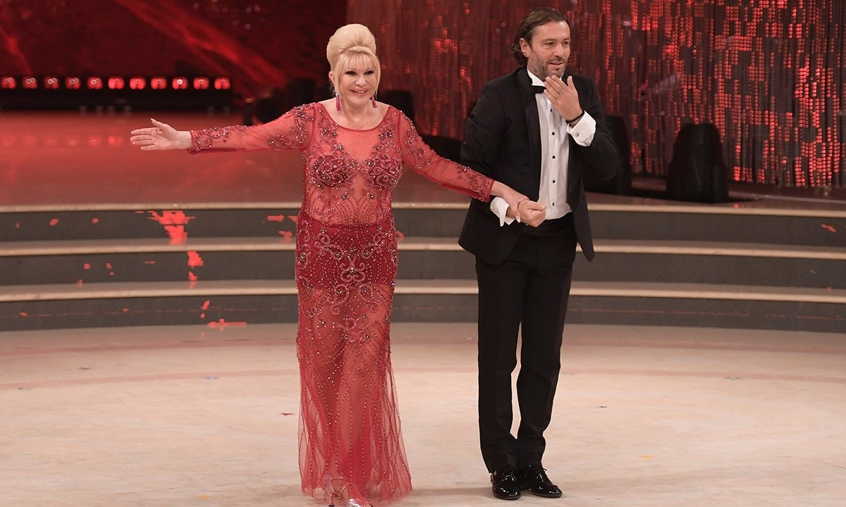 ivana trump makes surprise appearance on italy's 'dancing with the