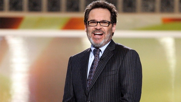 "Comedian Dennis Miller hosts the 11th annual ""Critics' Choice Awards"" in Santa Monica on January 9, 2006. The Broadcast Film Critics Association (BFCA) recognizes every year excellence in cinematic achievement in 19 categories and it is historically the most accurate predictor of the Academy Award nominations. REUTERS/Mario Anzuoni - RP3DSFEFHOAB"
