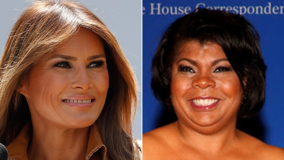 """CNN contributor April Ryan said first lady Melania Trump is """"not culturally American"""" during an appearance on """"OutFront."""""""