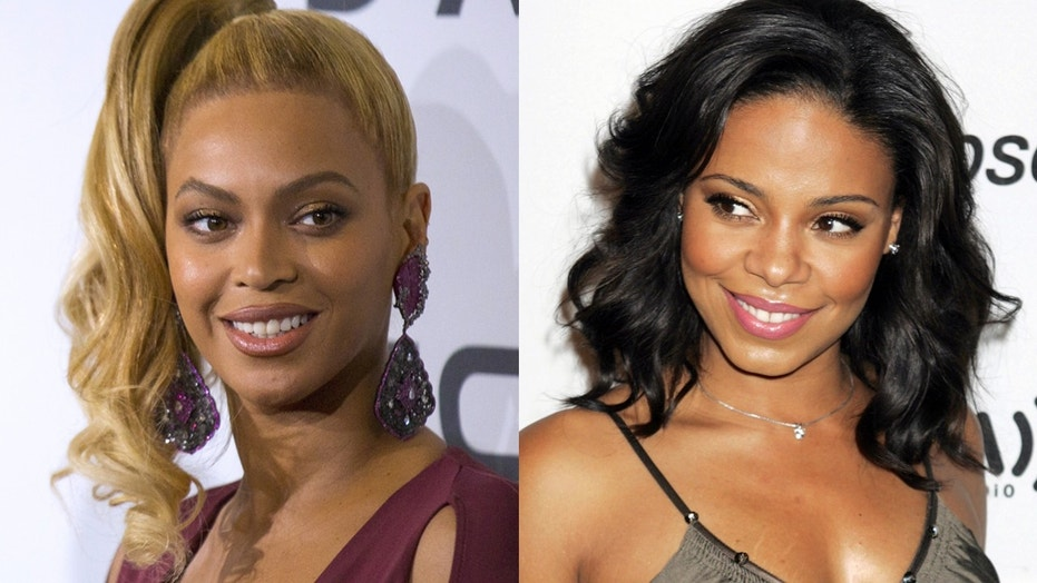 Actress Sanaa Lathan says that she is not the person who reportedly bit Beyonce.
