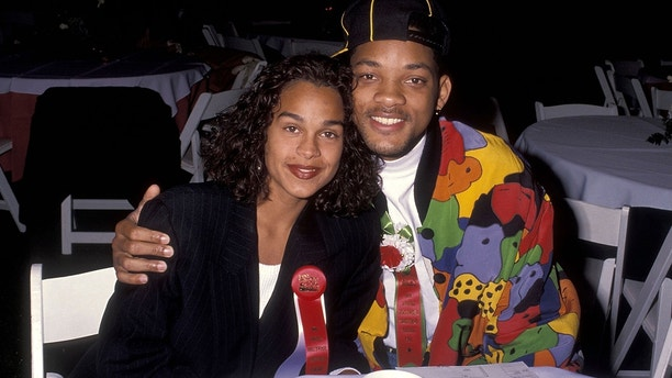 Actor Will Smith and girlfriend Sheree Zampino attend the 60th Annual Hollywood Christmas Parade on December 1, 1991 at KTLA Studios in Hollywood, California.