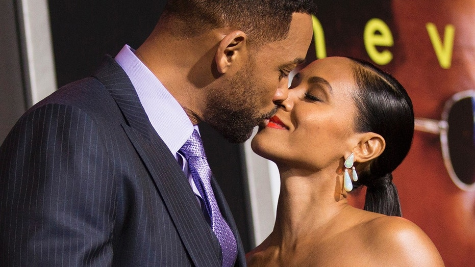 Jada Pinkett Smith (right) said she has regrets about getting into a relationship with now-husband Will Smith when he was only separated from his first wife.