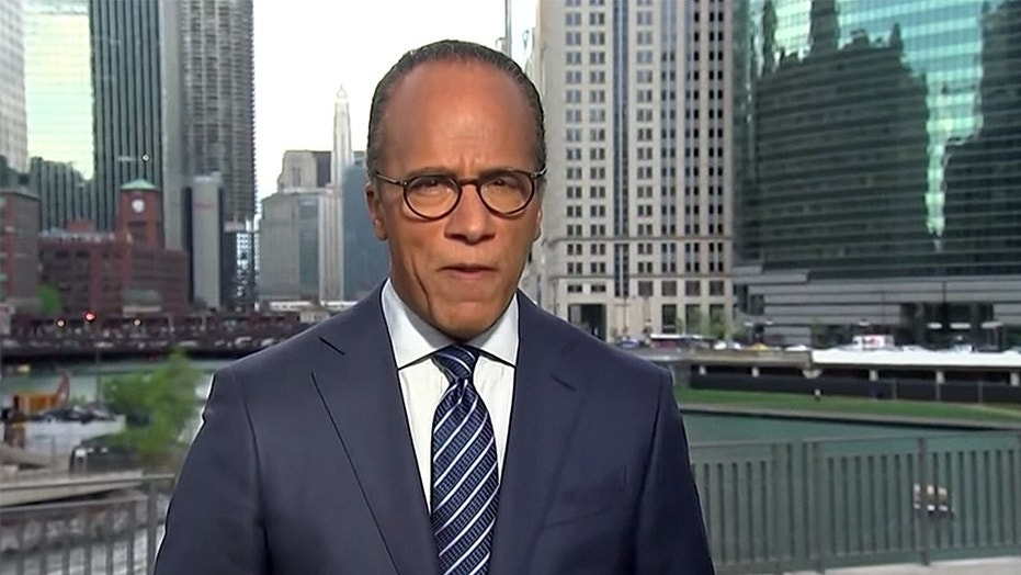 """Insiders feel """"NBC Nightly News"""" anchor Lester Holt has to be looking over his shoulder due to lackluster ratings."""