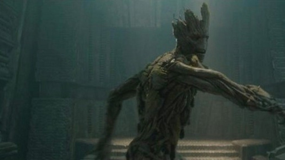 "In the film ""Guardians of the Galaxy,"" the character ""Groot"" is a tree that can walk and talk."