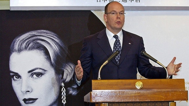 """FILE – In this April 23, 2007, file photo, Monaco's Prince Albert II, son of the late Princess Grace Kelly, speaks during a news conference after visiting an exhibition about his mother at a department store in Tokyo. A six-bedroom, two-and-a-half story Colonial home where the 1950s Hollywood leading lady grew up in Philadelphia has been restored for the use of her son Prince Albert II, his family and the family's charitable foundations, Toby Boshak, the executive director of the Princess Grace Foundation-USA, told NBC's """"Today"""" show in 2018. Prince Albert II repurchased the home in 2016. (AP Photo/Toru Takahashi, File)"""