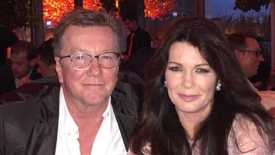 TV personality Lisa Vanderpump with her brother Mark in 2015.