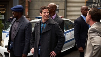 BROOKLYN NINE-NINE: L-R: Andre Braugher, Andy Samberg and Terry crews in the ÒBachelor/ette PartyÓ episode of BROOKLYN NINE-NINE airing Sunday, April 29 (8:30-9:00 PM ET/PT) on FOX.ÊCR: FOX