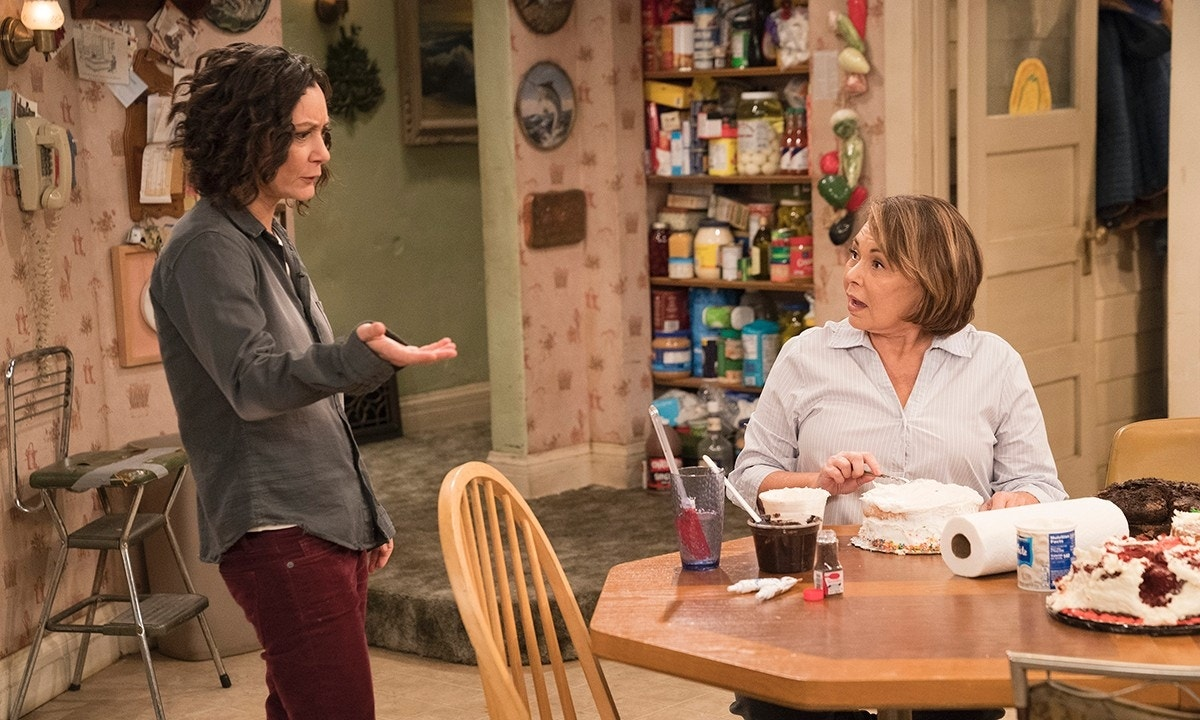 ABC set to dial back political humor from pro-Trump 'Roseanne' next season