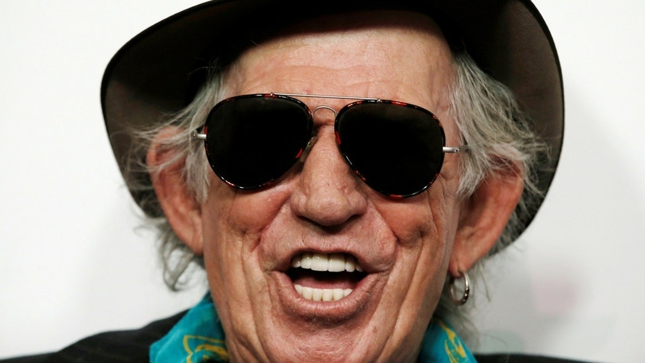 "Keith Richards warned Americans need to ""get rid"" of President Trump."