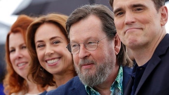 71st Cannes Film Festival - photocall for the film The House That Jack Built out of competition- Cannes, France, May 14, 2018. Director Lars von Trier and cast members Matt Dillon, Sofie Grabol and Siobhan Fallon Hogan. REUTERS/Stephane Mahe - UP1EE5E0W8YGK