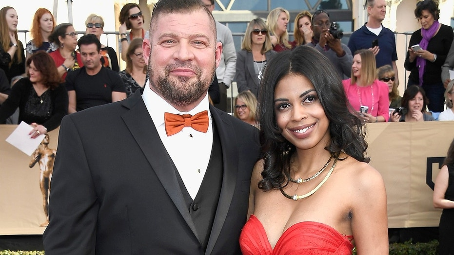 Brad Henke's former fiancée has received a temporary restraining order against the actor after he allegedly repeatedly threatened to hurt her.