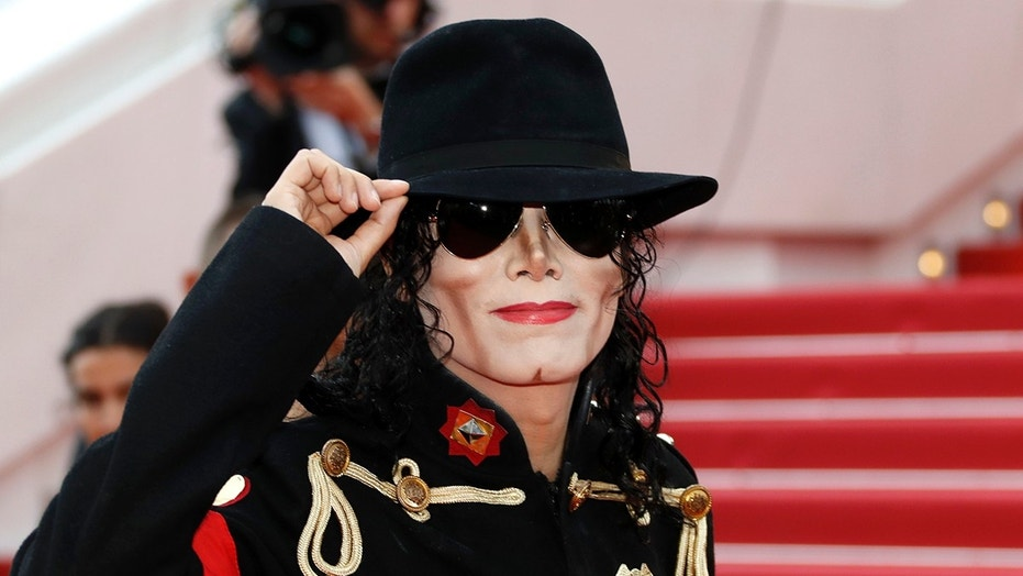 """71st Cannes Film Festival - Screening of the film """"Solo: A Star Wars Story"""" out of competition - Red Carpet Arrivals - Cannes, France May 15, 2018. Michael Jackson look-alike poses. REUTERS/Eric Gaillard - UP1EE5F19OREI"""