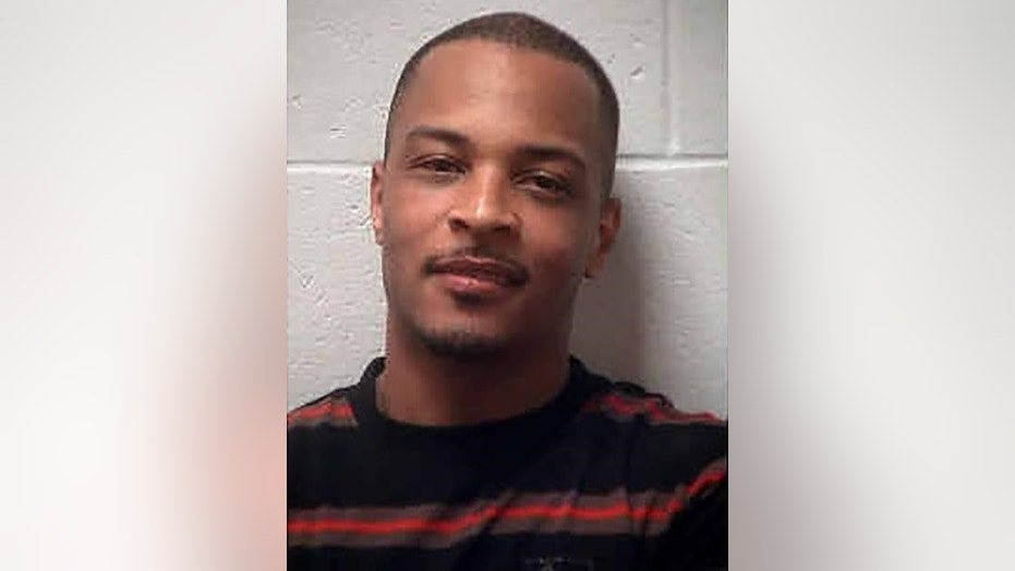 Police say rapper T.I. has been arrested Wednesday for disorderly conduct and public drunkenness as he tried to enter his gated community outside Atlanta.