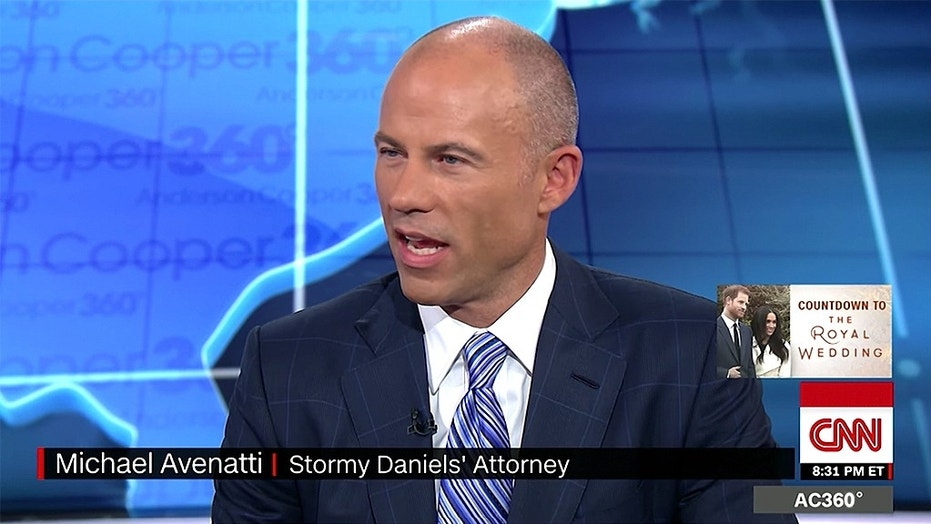 The attorney for adult film star Stormy Daniels has been spending his free time hobnobbing with elite members of the liberal media.