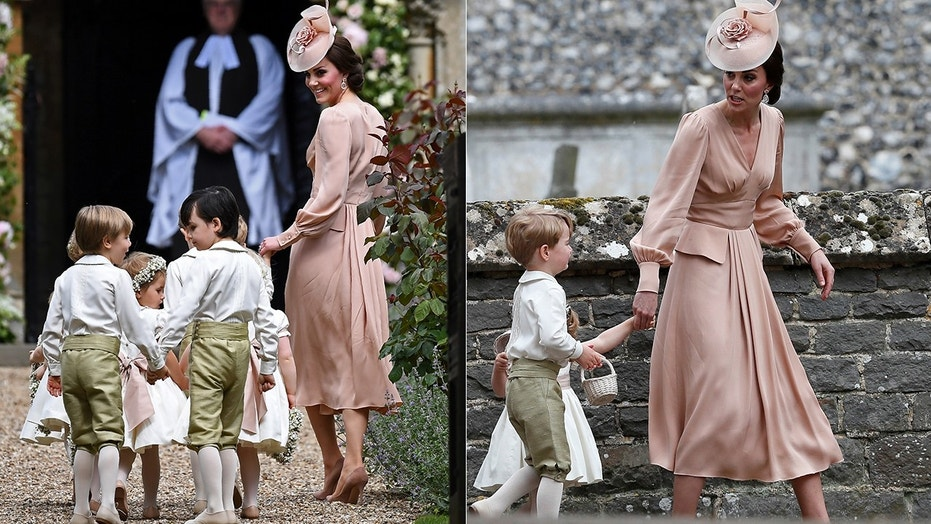 Kate wore a simple dress to her sister Pippa Middleton's wedding. Many have speculated she will do the same at the upcoming royal wedding.
