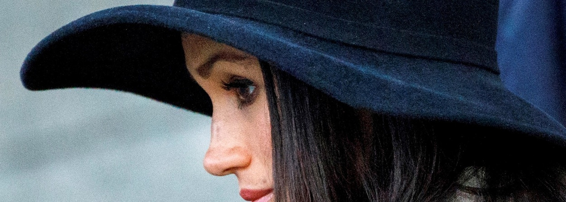 Meghan Markle, the fiancee of Britain's Prince Harry, attends the Dawn Service at Wellington Arch to commemorate Anzac Day in London, Britain, April 25, 2018. Tolga Akmen/Pool via Reuters - RC1F6CA51F40